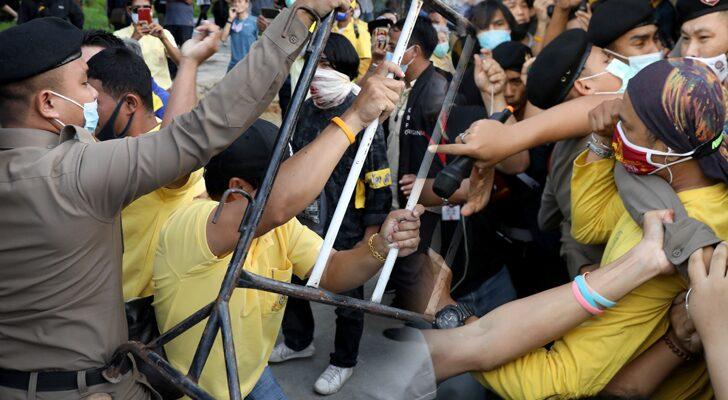 เตือนการเมือง-ม็อบมวลชน เงื่อนไข'ความรุนแรง'