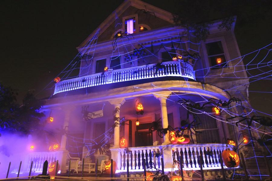 เยือน 'คฤหาสน์ผีสิง' สุดหลอนรับฮาโลวีนที่นิวออร์ลีนส์