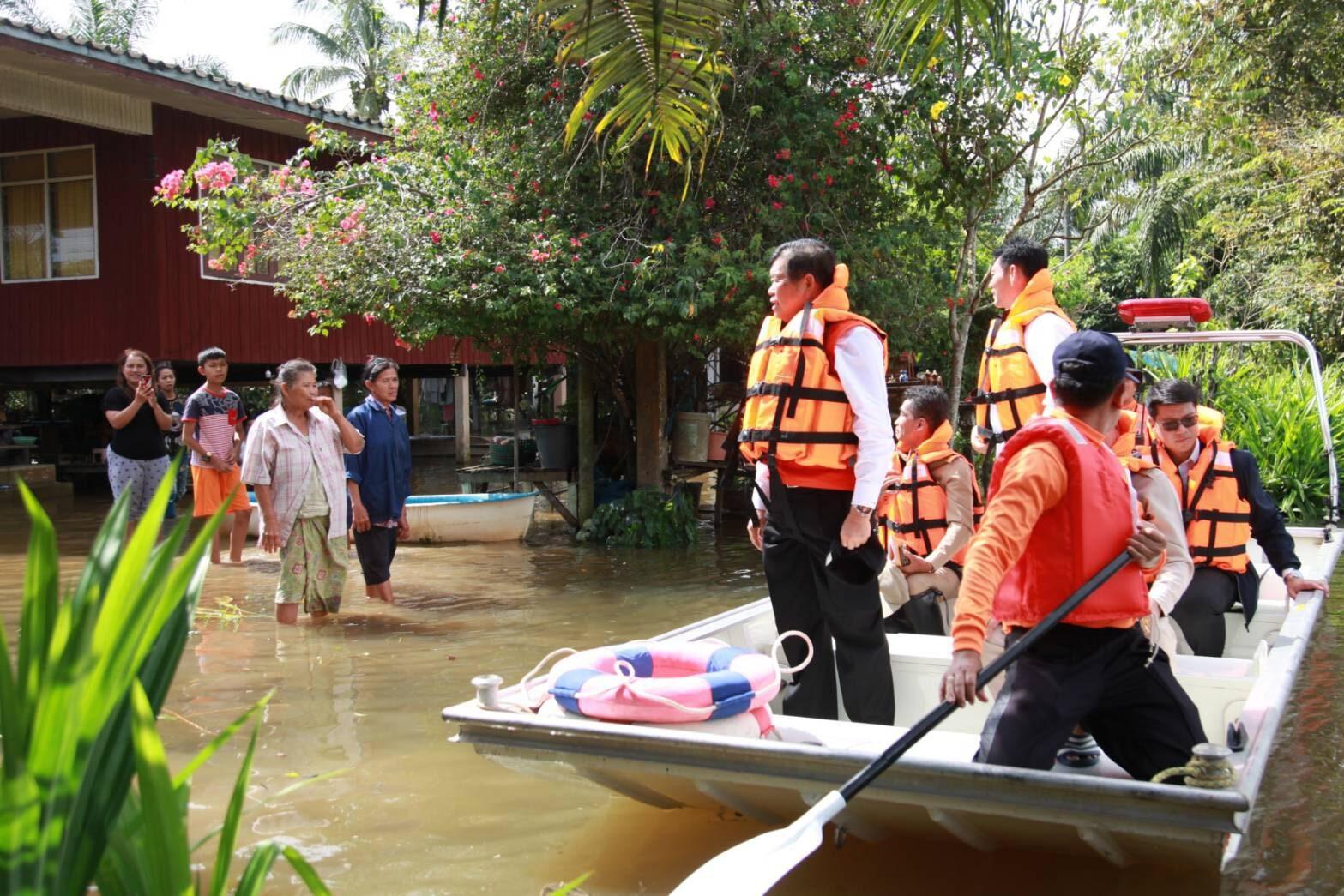 'นิพนธ์' ช่วยชาวสุราษฎร์ฯ หลังน้ำยังท่วมขังใน 4 อำเภอ พร้อมสั่งการ แก้ไขสถานการณ์น้ำป่าไหลหลากท่วมปราจีนบุรีเร่งด่วน
