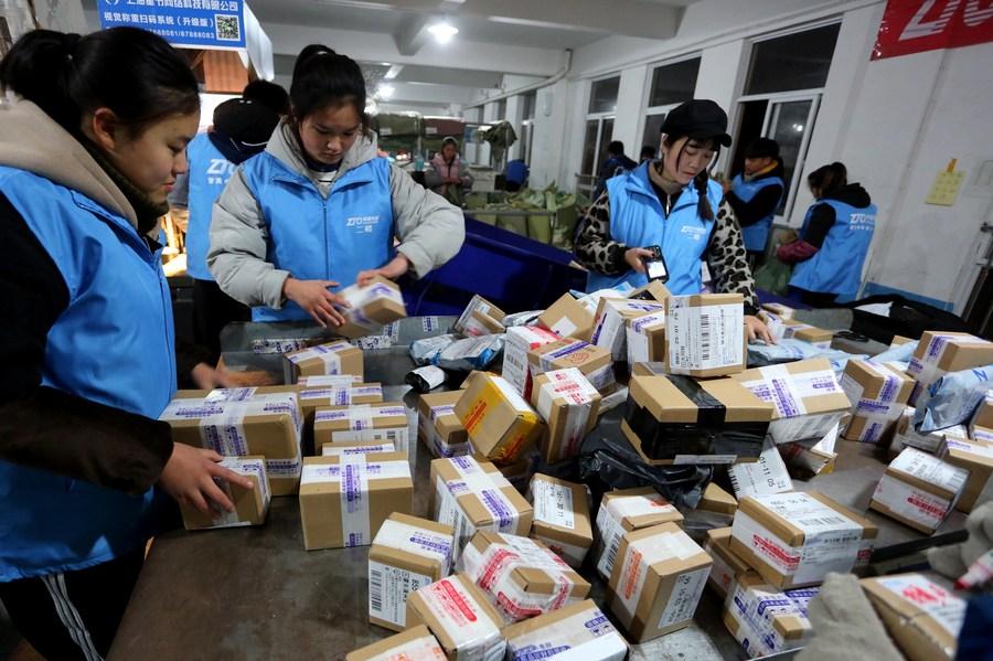จีนคาดยอดส่งพัสดุ มหกรรมชอปปิง 'วันคนโสด' พุ่งกระฉูด