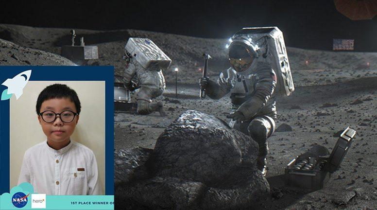 ชุดส้วมบนดวงจันทร์ นาซาให้เด็กชายมาเลย์9ขวบ ชนะเลิศการออกแบบ