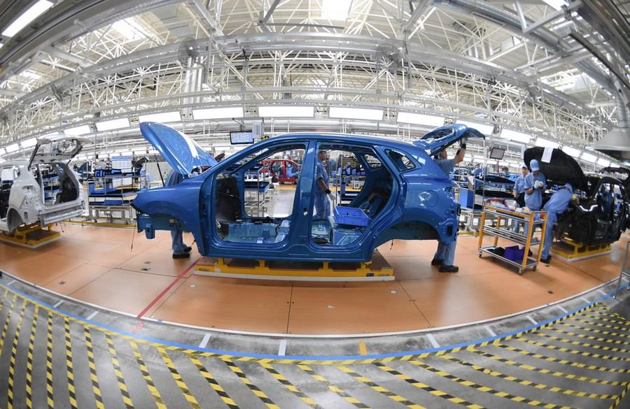 'ยักษ์ใหญ่ยานยนต์จีน' เผยยอดผลิต-ขาย เดือนต.ค. เติบโต
