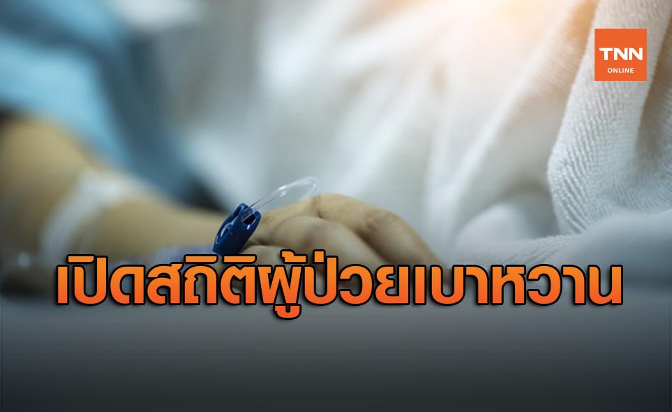 เปิดสถิติผู้ป่วยเบาหวาน เพิ่มขึ้น 1 แสนคนต่อปี เสียชีวิต 200 รายต่อวัน
