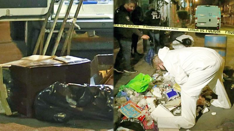 """ตำรวจจังโก้ช็อก! ชายเดินถือกล่อง """"ชิ้นส่วนมนุษย์"""" กลางกรุง"""