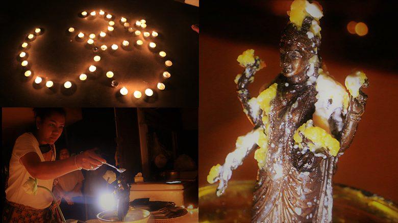 พิธีบูชาพระแม่ลักษมี กลุ่มคนในระนองฉลองเทศกาลดีปาวลี มีส่องเลขด้วย