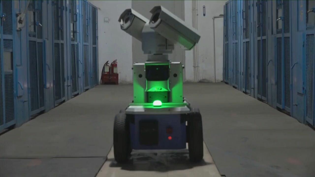 สุดล้ำ! 'หุ่นยนต์อัจฉริยะ' ตรวจตราสถานีไฟฟ้าย่อยซานซี