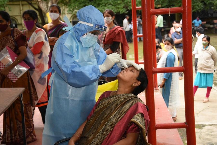 อินเดียป่วยโควิด-19 เพิ่ม 31,118 ราย ใน 24 ชั่วโมง