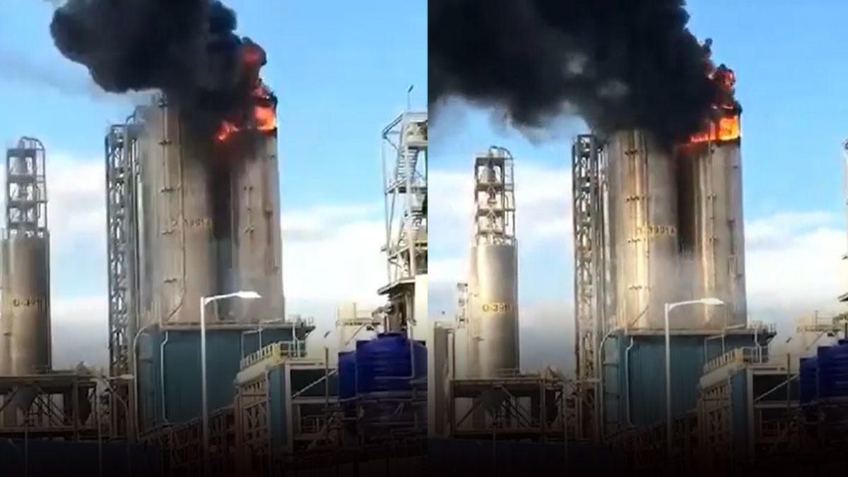 ด่วน! เพลิงไหม้โรงงานนิคมฯมาบตาพุด ไฟลุกโชนเสียดฟ้า ประกาศภาวะฉุกเฉิน