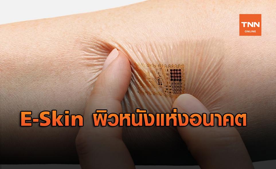 E-Skin ผิวหนังเทียมพร้อมเซนเซอร์รับความรู้สึก วิวัฒนาการใหม่แห่งวงการแพทย์