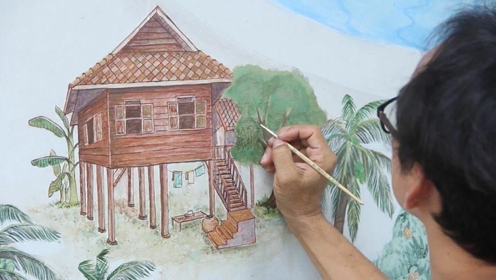 มช.นำศิลปะสู่ชุมชน ชุบชีวิตพื้นที่ว่างเปล่าให้มีสีสัน ส่งเสริมการท่องเที่ยวเชิงวัฒนธรรม