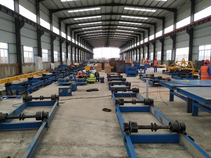 'โรงงานไม้หมอนจีน' เริ่มผลิตตามแผนอภิมหาโครงการรถไฟในบังกลาเทศ
