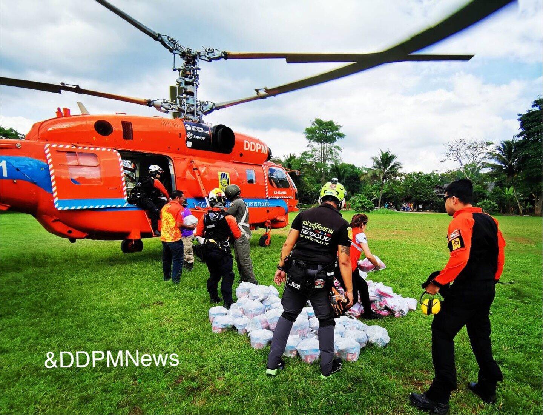 ปภ.รายงานสถานการณ์อุทกภัยในพื้นที่ภาคใต้ 5 จังหวัด เร่งช่วยเหลือผู้ประสบภัยอย่างเต็มกำลัง