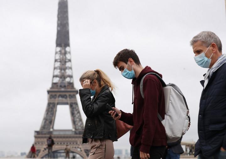 'ฝรั่งเศส' ป่วยโควิด-19 รายใหม่น้อยลง แต่ยอดรักษาในโรงพยาบาลเพิ่มขึ้น