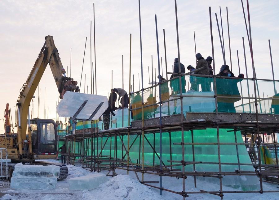 ฮาร์บินเดินหน้าสร้างสวนสนุก 'โลกน้ำแข็ง-หิมะ'
