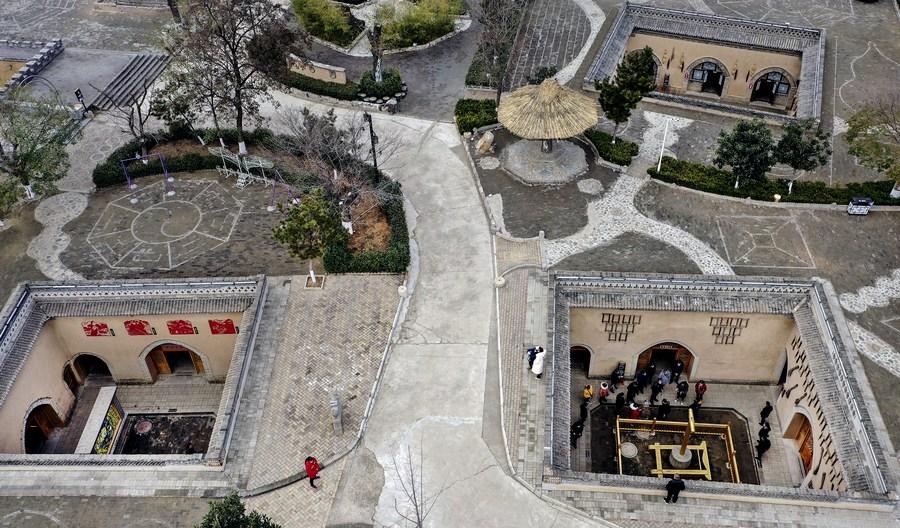 'เรือนสี่ประสานใต้ดิน' แม่เหล็กท่องเที่ยวชนบทจีน