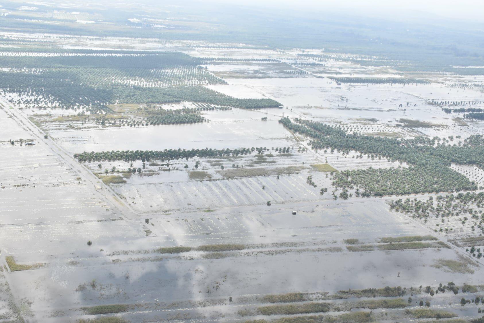ปภ.รายงานสถานการณ์อุทกภัย 7 จังหวัดภาคใต้ เร่งระบายน้ำ ช่วยเหลือผู้ประสบภัย