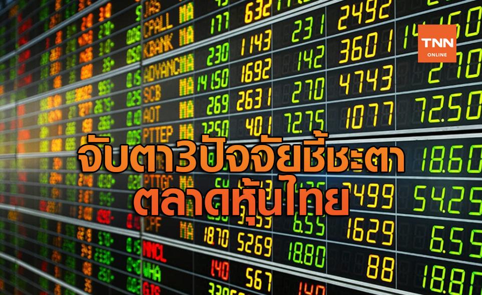 จับตา 3 ปัจจัยชี้ชะตาตลาดหุ้นไทยสัปดาห์หน้า
