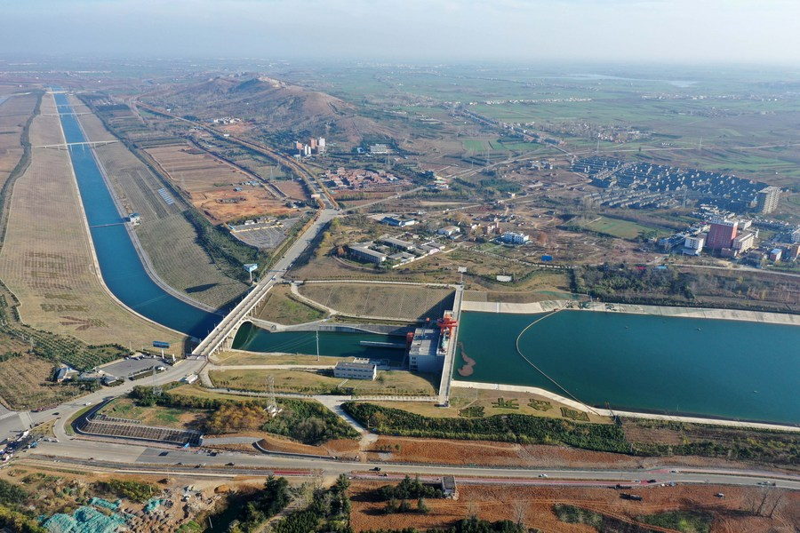 จีน 'ผันน้ำใต้สู่เหนือ' กว่า 3 หมื่นล้านลบ.ม. เอื้อประโยชน์ปชช.นับร้อยล้าน