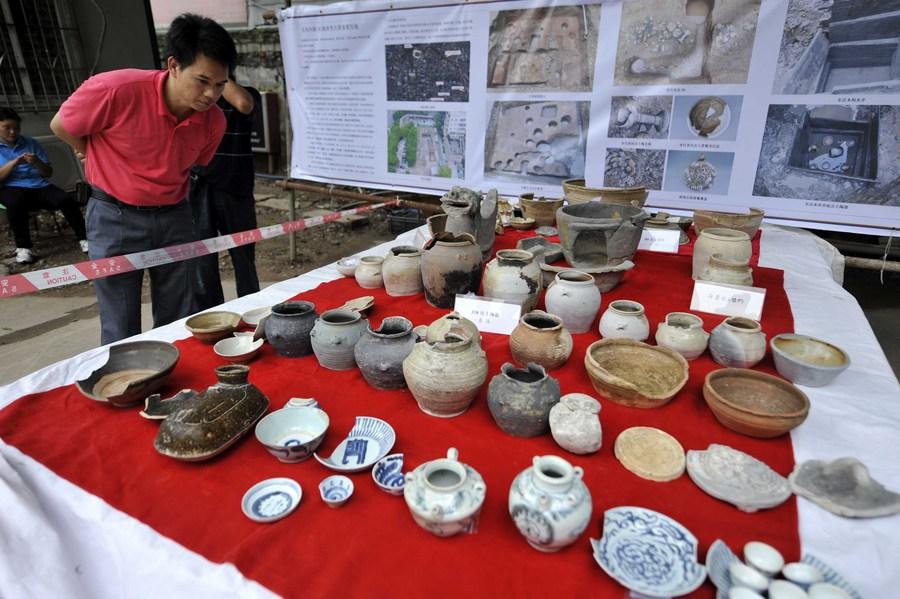 'กวางตุ้ง' พบคลังโบราณวัตถุ 2,200 ปี จากอดีตศูนย์กลางการค้ายุคฮั่น