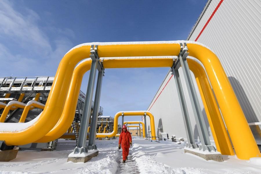 จีนใช้ 'ก๊าซธรรมชาติ' กว่า 2.5 แสนล้านลบ.ม. ช่วง 10 เดือนแรก