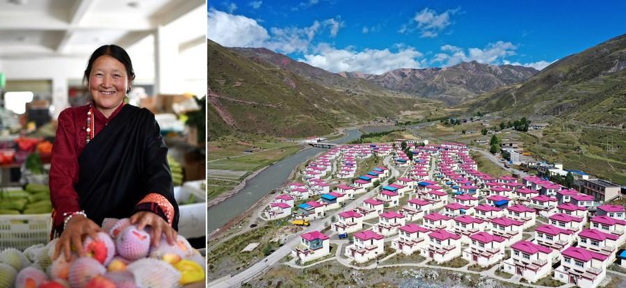 'พื้นที่อยู่อาศัยต่อคน' ใน 'ทิเบต' เพิ่มขึ้นกว่าสิบเท่า