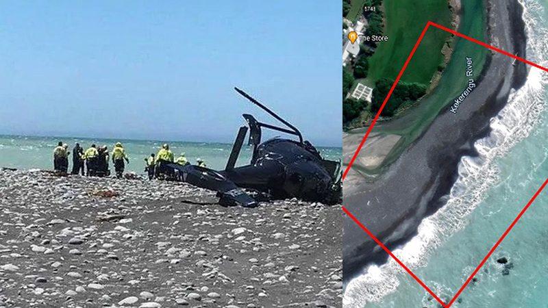 นิวซีแลนด์เร่งส่งโรงพยาบาล เด็ก3ชีวิตรอดปาฏิหาริย์ เฮลิคอปเตอร์ดิ่งหาดคร่า2ศพ