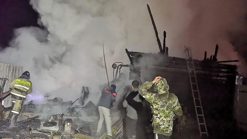 ย่างสด 11 ศพ ไฟไหม้บ้านพักคนชรารัสเซีย เคลื่อนไหวไม่ได้-ติดอยู่ข้างใน