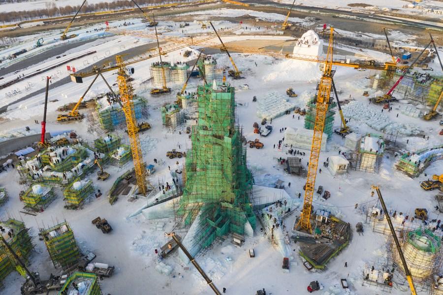ฮาร์บินเร่งสร้าง 'สวนสนุกโลกน้ำแข็ง-หิมะ' เปิดปลายปีนี้
