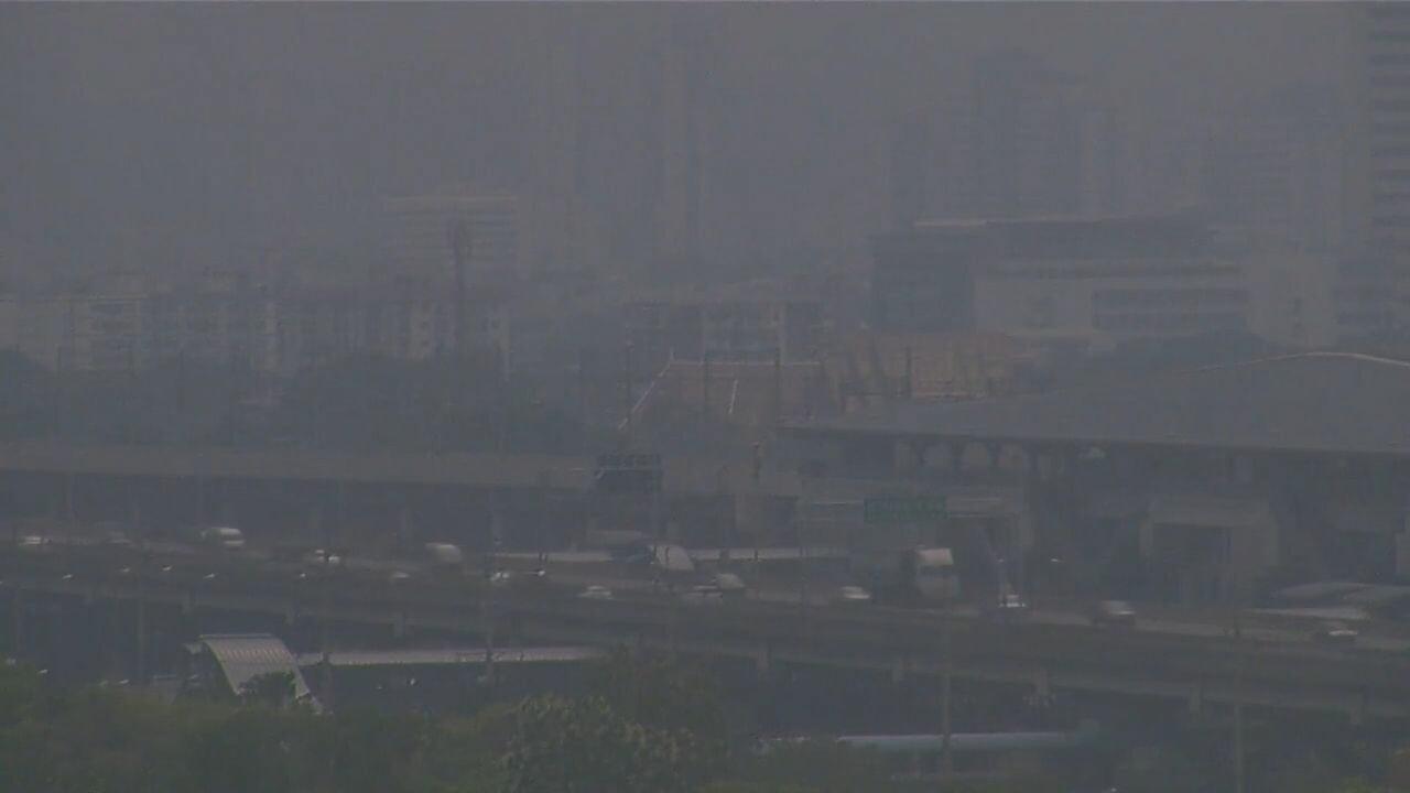 รายงานเผย 'กรุงเทพฯ' ติดอันดับ 3 คุณภาพอากาศแย่ที่สุดในโลก