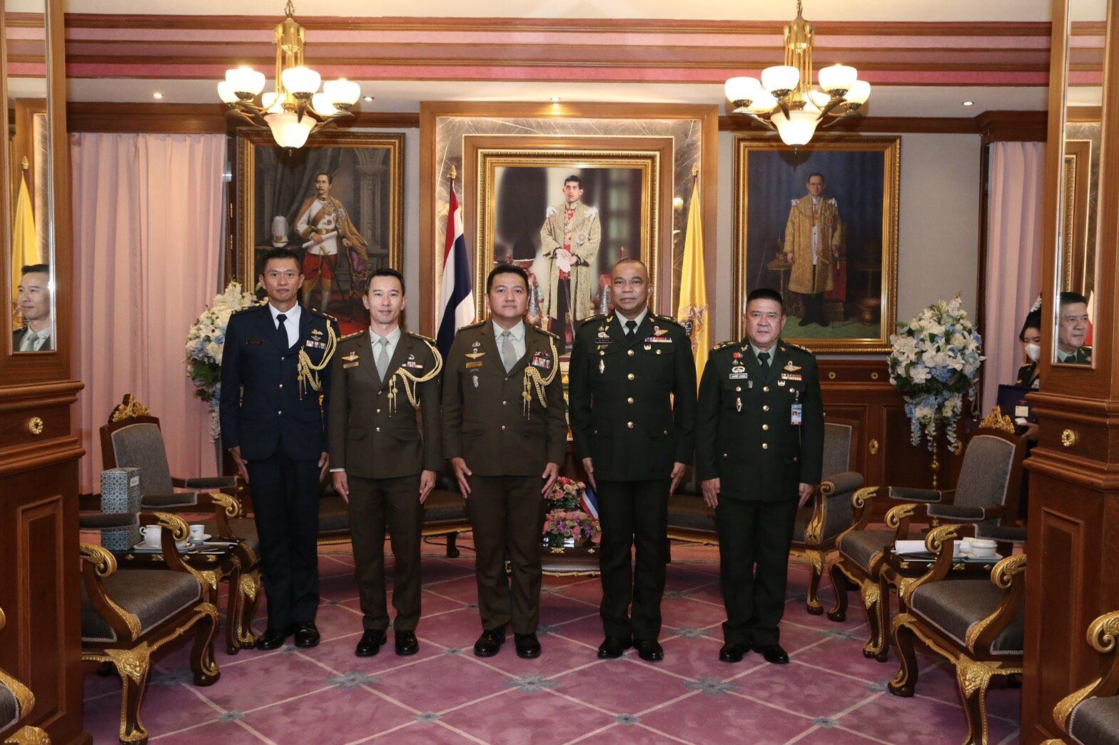 ปลัดกลาโหมต้อนรับ ผชท.ทหาร สาธารณรัฐสิงคโปร์/กรุงเทพฯ เยี่ยมคำนับโอกาสครบวาระการปฏิบัติหน้าที่
