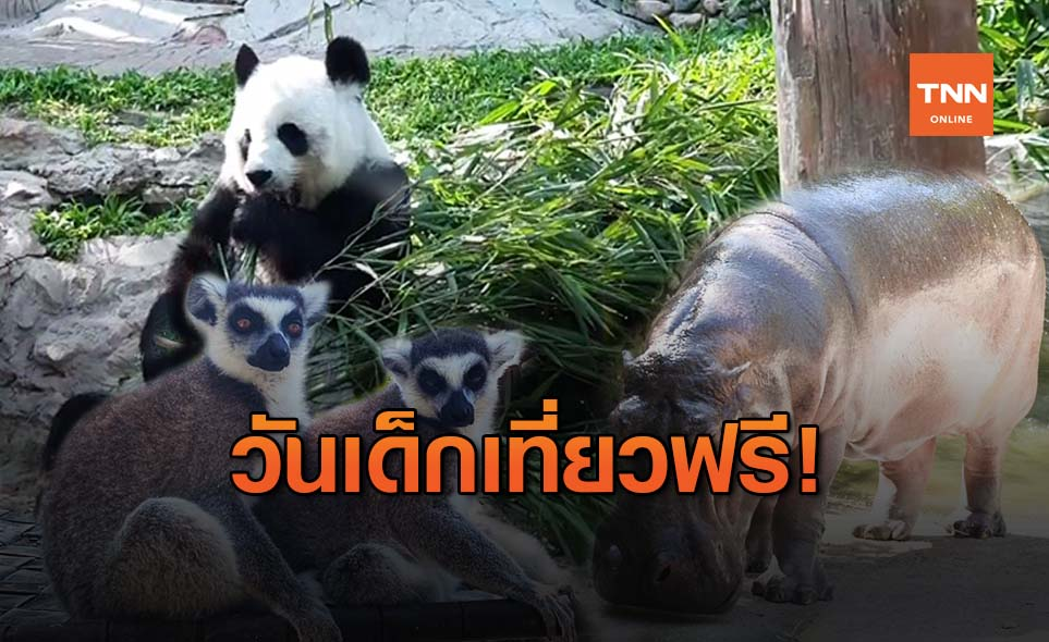 วันเด็กแห่งชาติ 2564 เปิดสวนสัตว์ให้เด็กเที่ยวฟรี!
