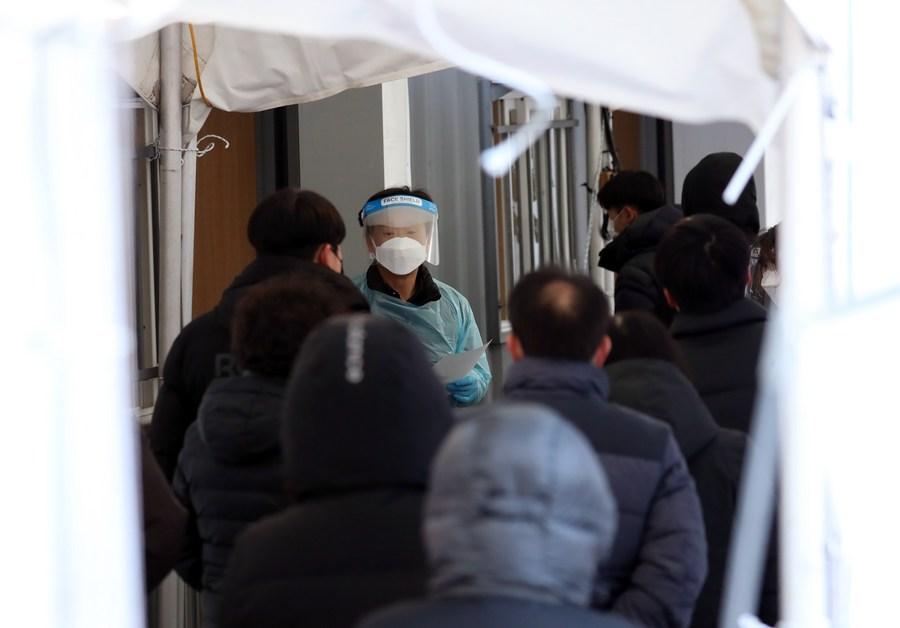 เกาหลีใต้ป่วยโควิด-19 เพิ่มทุบสถิติ ยอดรวมทะลุ 4.5 หมื่นราย