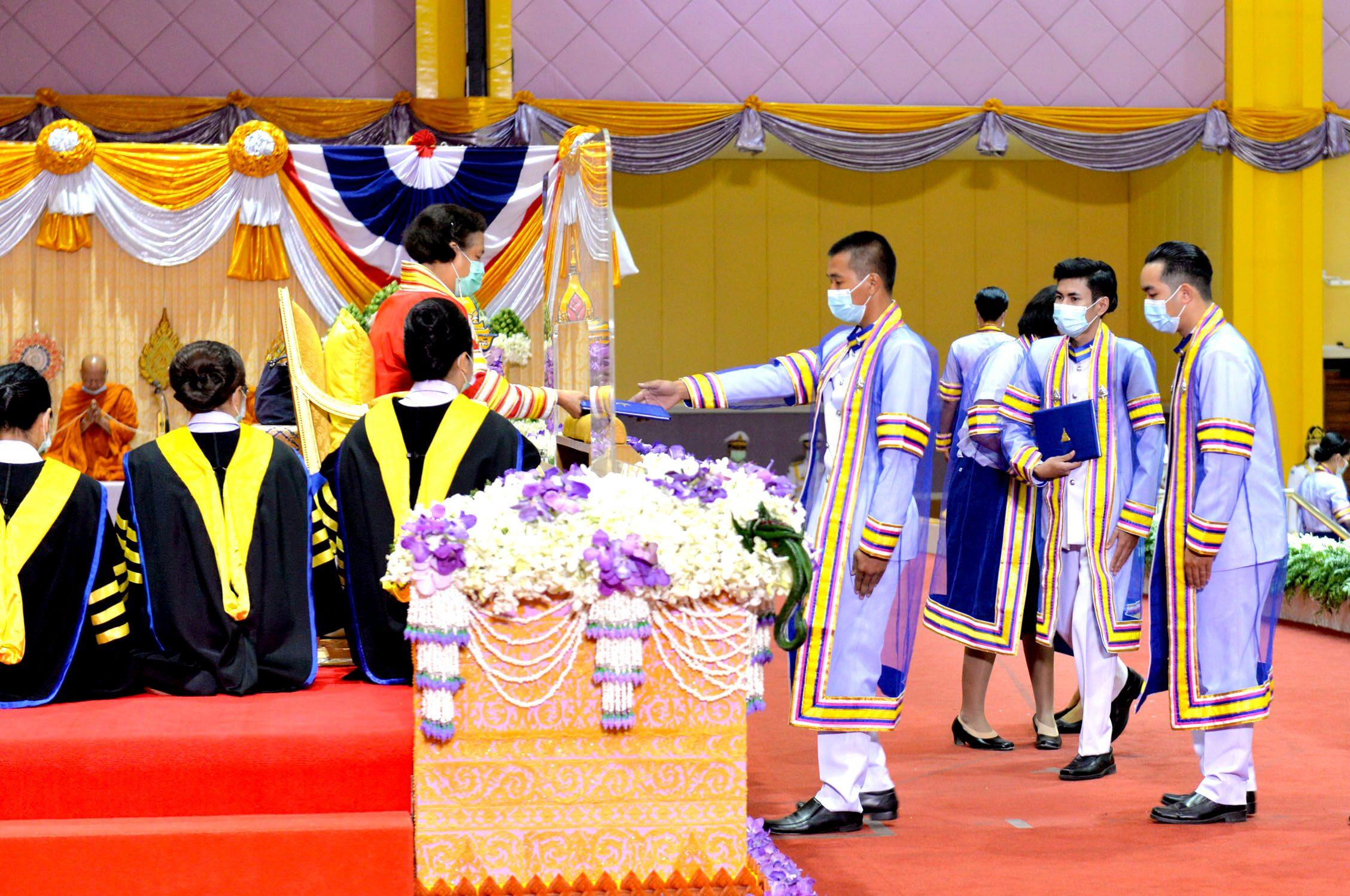 กรมสมเด็จพระเทพฯ พระราชทานปริญญาบัตรบัณฑิต  มหาวิทยาลัยอุบลราชธานี
