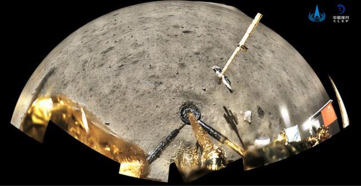 ยานสำรวจดวงจันทร์ 'ฉางเอ๋อ-5' ของจีน กลับสู่พื้นโลกแล้ว