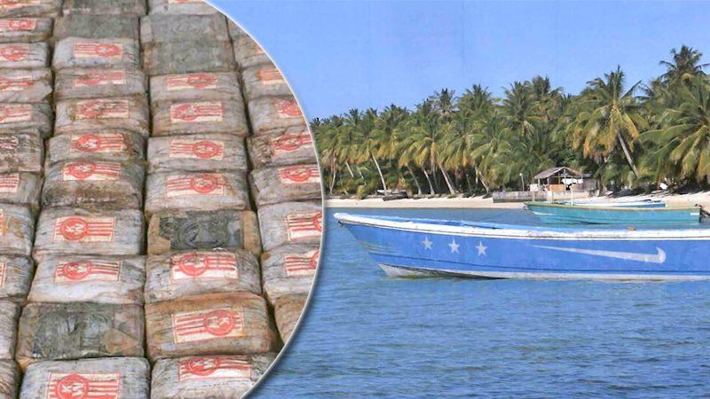 ผงะโคเคน 650 กิโลฯ มูลค่ากว่า 2 พันล้าน ซุกเรือร้างเกยตื้นเกาะแปซิฟิก