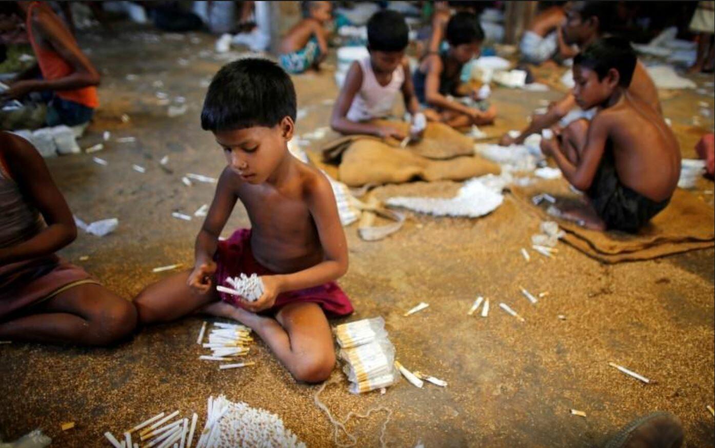 แรงงานเด็กบราซิลครึ่งหนึ่งทำงานเสี่ยงอันตราย