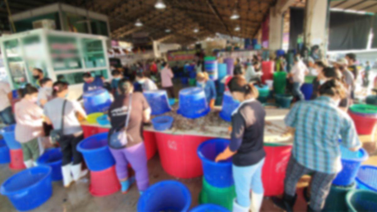 พิษโควิดระบาดรอบใหม่! ผู้ค้าอาหารทะเลสมุทรสาครทำใจ ขาดรายได้ช่วงปีใหม่