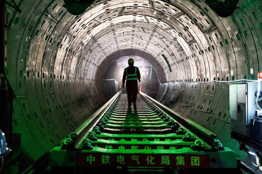 ฉางซาเดินหน้า 'รถไฟใต้ดิน' สายใหม่ เริ่มวางรางยาว 48.11 กม.