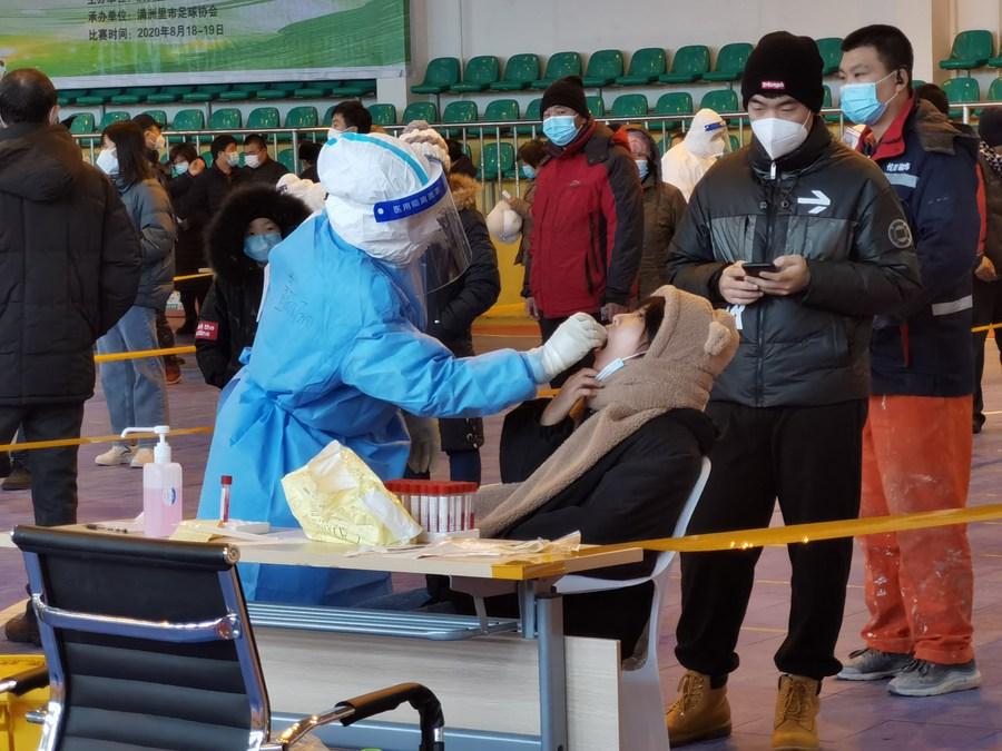 'หม่านโจวหลี่' เมืองชายแดนจีน-รัสเซีย ยอดป่วยโควิด-19 เหลือศูนย์