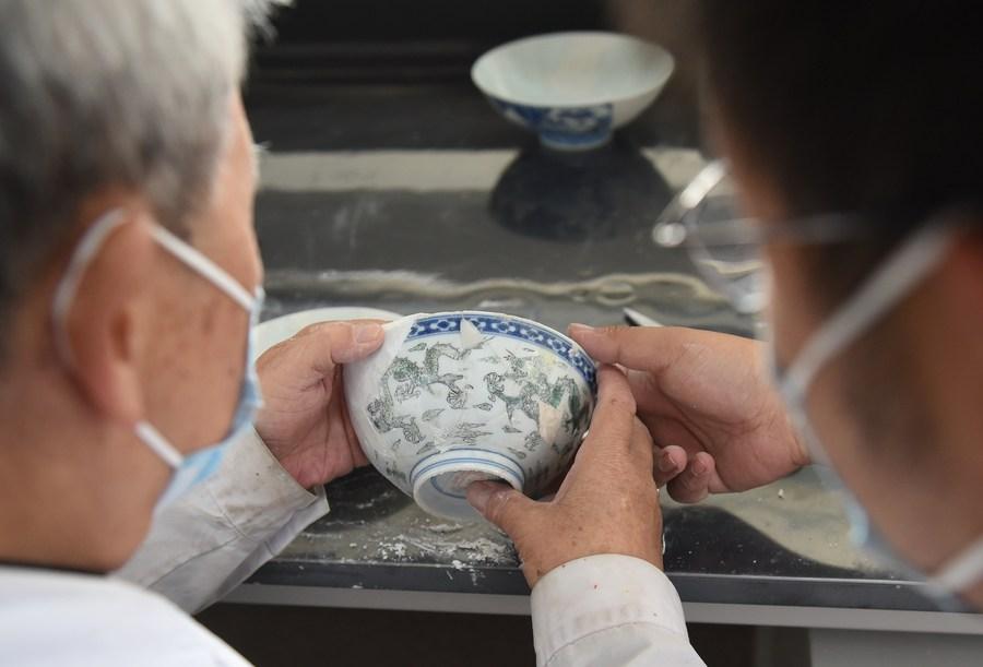 'หยวนหมิงหยวน' เปิดโครงการบูรณะโบราณวัตถุระยะที่ 3