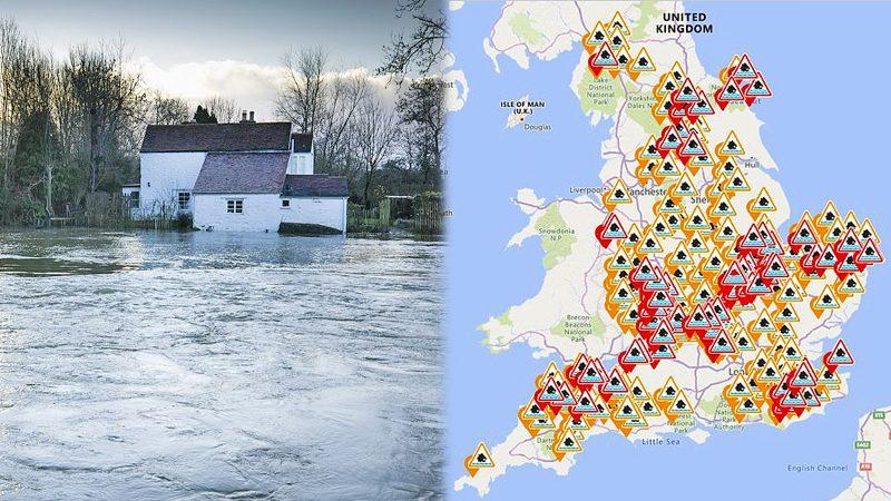 """พายุ """"เบลลา"""" ถล่มทั่วอังกฤษ ฝนกระหน่ำน้ำท่วม-ซ้ำเติมภัยหนาว!"""