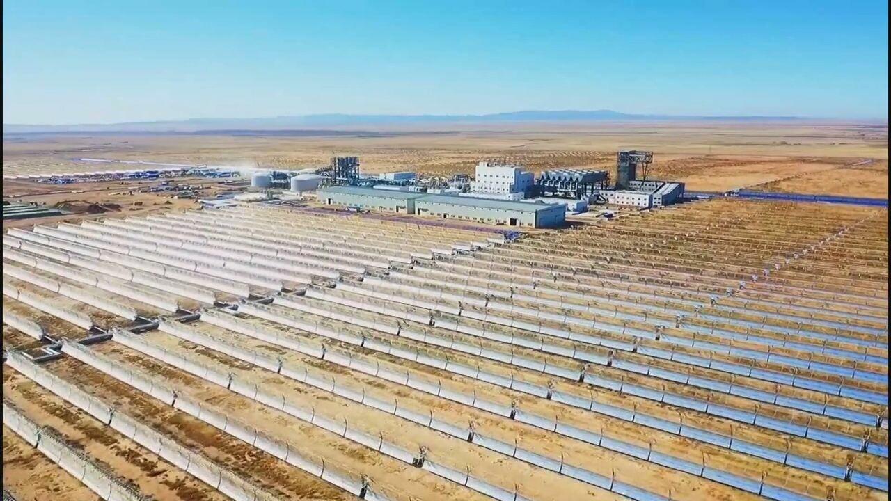 'โรงไฟฟ้าพลังแสงอาทิตย์' มองโกเลียใน เดินเครื่องเต็มกำลัง