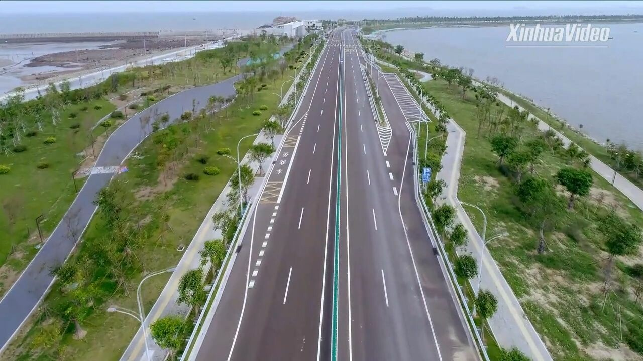 ฝูเจี้ยนเปิดใช้ทางหลวงแห่งชาติ 'สวยสุด' ในจีน