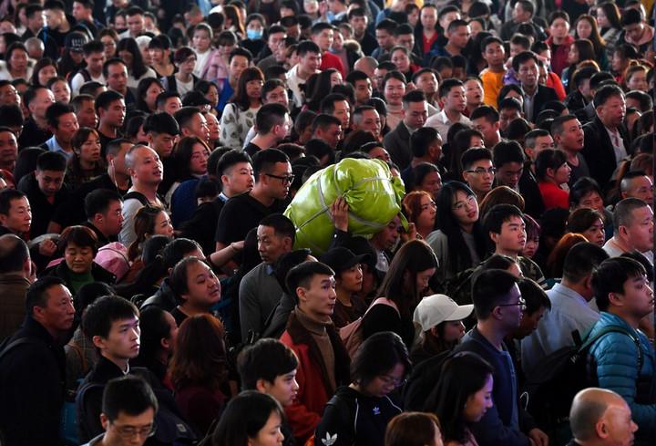 จีนคาดยอด 'เดินทางด้วยรถไฟ' ช่วงตรุษจีน ทะลุ 400 ล้านครั้ง