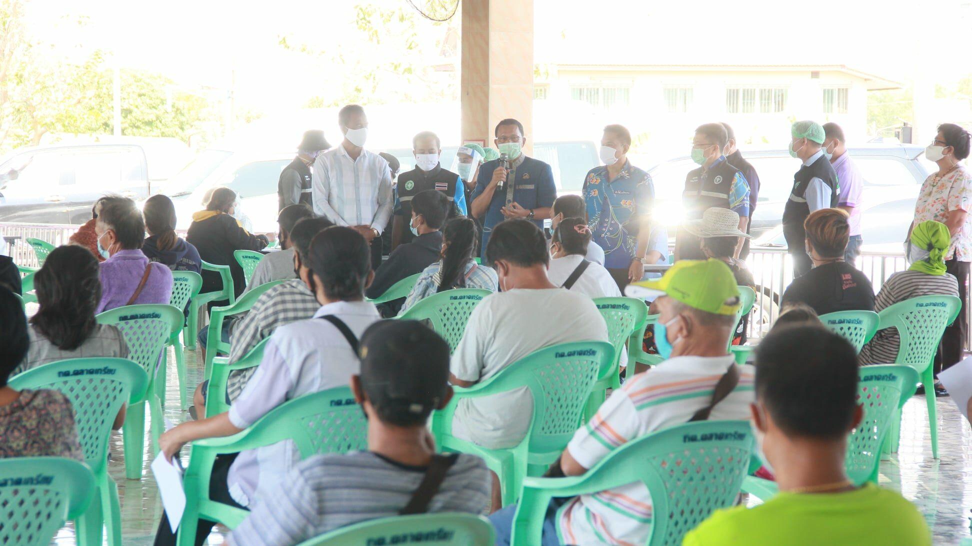 'ผู้ว่าฯอยุธยา' เร่งนำทีมแพทย์ลงตรวจทุกชุมชนทุกหลังคาเรือน ควานหาเซียนไก่ชนที่อาจติดเชื้อ