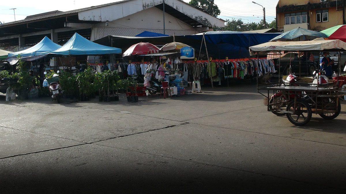 ชาวบ้าน กบินทร์บุรี ผวา ตลาดถึงกับร้าง หลังพบดีเจติดโควิด
