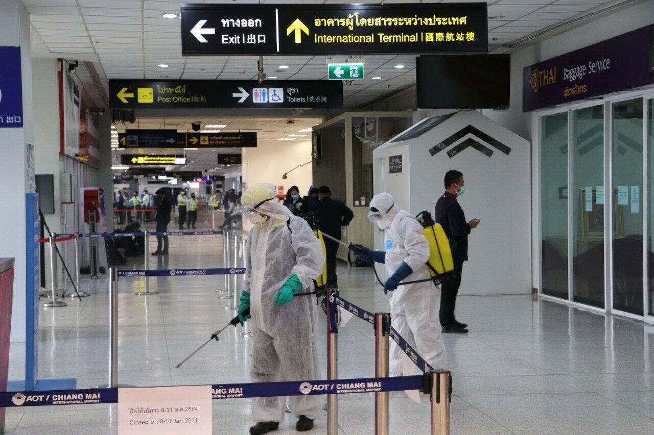 สนามบินเชียงใหม่ แจงเหตุจนท.ศูนย์ช่วยเหลือนักท่องเที่ยวติดเชื้อโควิด