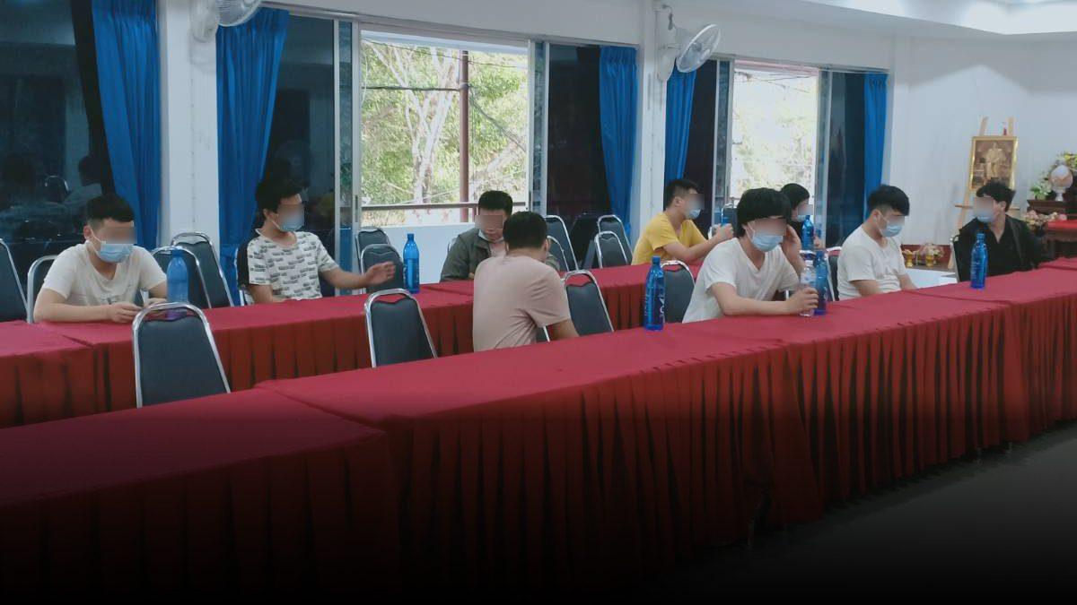 รวบ 3 คนขับไทย ลอบพา 9 ชาวจีน จากชายแดนเมียนมา จะข้ามไปลาว