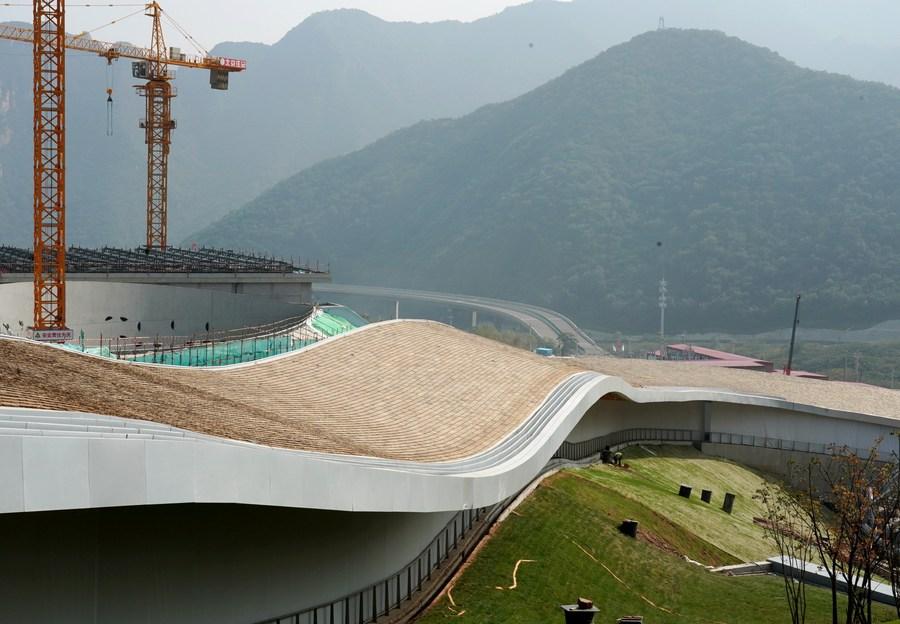 เสร็จแล้ว 94% งานฟื้นฟูทางนิเวศของสนามแข่งขันโอลิมปิกฤดูหนาวปักกิ่ง