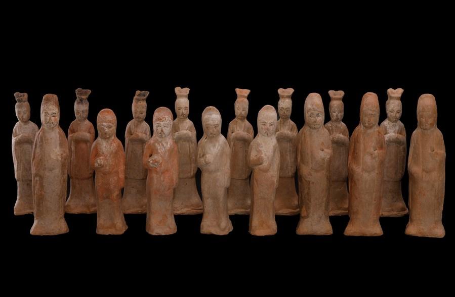 จีนพบ 'จิตรกรรมฝาผนังหลุมศพ' ยุคราชวงศ์ถังสุดหายาก